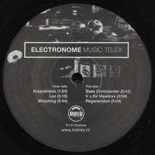 "Electronome - Music Telex - 12"" Vinyl"