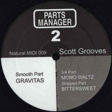 "Scott Grooves - Parts Manager 2 - 12"" Vinyl"