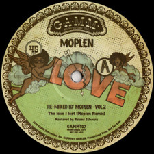 "Moplen - Re-Mixed By Moplen Vol. 2 - 12"" Vinyl"