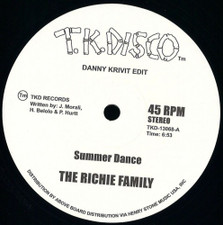"The Richie Family / Wild Honey - Danny Krivit Edits - 12"" Vinyl"