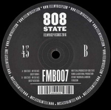 """808 State - In Yer Face (Bicep Remixes) - 12"""" Vinyl"""