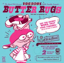 """Butter Rugs 7"""" - White - 7"""" Slipmats (Pair)"""