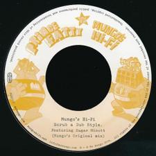"""Prince Fatty Vs. Mungo's Hi-Fi - Scrub A Dub Style - 7"""" Vinyl"""