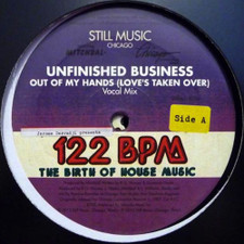 "Unfinished Business / Omni - Out Of My Hands (Love's Taken Over) - 2x 12"" Vinyl"