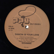 "Dohnnie - Dancin Is Your Love - 12"" Vinyl"