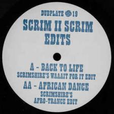 """Scrimshire / Soul II Soul - Scrim II Scrim Edits - 12"""" Vinyl"""