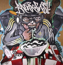 DJ Quest & 2 Fresh - Breakfast - LP Vinyl