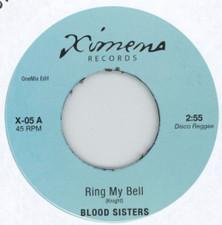 """Blood Sisters / Nairobi Sisters - Ring My Bell / Promised Land Dub - 7"""" Vinyl"""