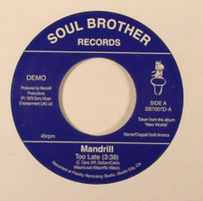 "Mandrill - Too Late / Feeling Good - 7"" Vinyl"