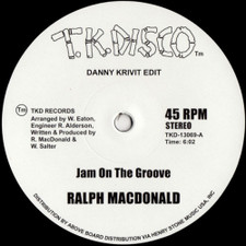 "Ralph MacDonald / Foxy - Jam On the Groove / Get Off Your Aah (Danny Krivit Edits) - 12"" Vinyl"
