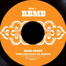 "King Most - Turn The Music Up, Marvin - 7"" Vinyl"