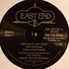 "Dan Hartman - Relight My Fire / Vertigo - 12"" Vinyl"