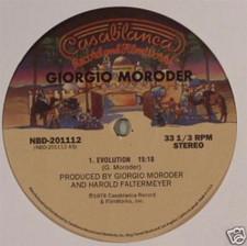 "Giorgio Moroder - Evolution/Wanna Rock - 12"" Vinyl"