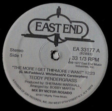 """Teddy Pendergrass - The More I Get, The More I Want - 12"""" Vinyl"""