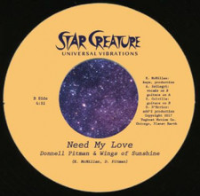 """Donnell Pitman & Wings Of Sunshine - Do You Wanna / Need My Love - 7"""" Vinyl"""