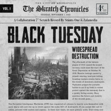 "The Skratch Chronicles - Black Tuesday - 7"" Vinyl"