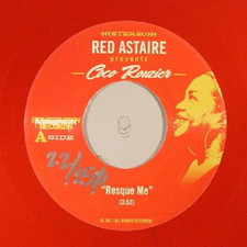 """Red Astaire / Coco Rouzier - Resque Me / Reaching Out To You - 7"""" Colored Vinyl"""