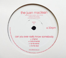"""The Juan Maclean - Can You Ever Really Know Somebody - 12"""" Vinyl"""