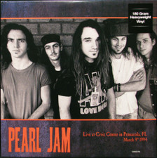 Pearl Jam - Live At Civic Center Pensacola FL March 9th 1994 - 2x LP Vinyl