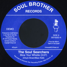 """Soul Searchers - Blow Your Whistle / Ashley's Roach Clip - 7"""" Vinyl"""