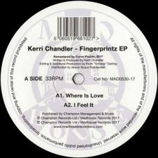 "Kerri Chandler - Fingerprintz EP - 12"" Vinyl"