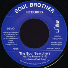 "Soul Searchers - We The People / Think - 7"" Vinyl"