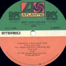 """Lace - Can't Play Around - 12"""" Vinyl"""