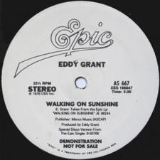 "Eddy Grant - Walking On Sunshine / Electric Avenue - 12"" Vinyl"