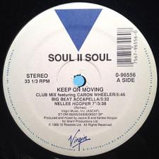 "Soul II Soul - Keep On Movin - 12"" Vinyl"