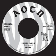 "Zebra - Simple Song / I Forgot To Say - 7"" Vinyl"