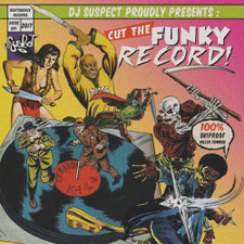 "Dj Suspect - Cut The Funky Record! - 7"" Colored Vinyl"
