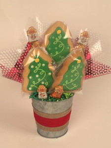 A Holiday Cookie Bouquet