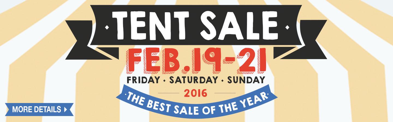 2016 Tent Sale