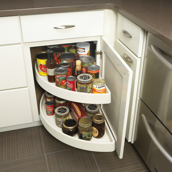 Blind Corner Cabinet with Lazy Susan - QualityCabinets