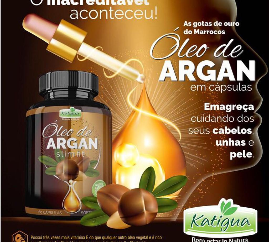Argan Oil Slim Fit 60 Softgel