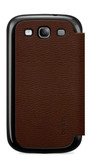 Buy Belkin Micra Folio Case Cover with Battery Door for Samsung Galaxy S3 III (Brown) with Free Shipping from www.creekle.com