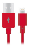 Buy Naztech Charge & Sync Lightning USB Connector for Apple Devices (Red) with Free Shipping from www.creekle.com