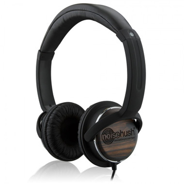Buy Noisehush NX26 3.5mm Stereo Headphones with In-Line Mic (Wood) with Free Shipping from www.creekle.com