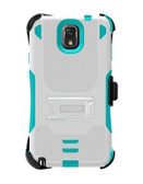 Buy Beyond Cell Tri-Shield Case for Samsung Galaxy Note 3 (White/Light Blue) with Free Shipping from www.creekle.com