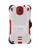 Buy Beyond Cell Tri-Shield Kombo Case for Samsung Galaxy Note 3 (White/Red) with Free Shipping from www.creekle.com
