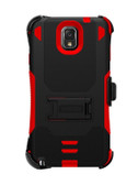Buy Beyond Cell Tri-Shield Kombo Case for Samsung Galaxy Note 3 (Black/Red) with Free Shipping from www.creekle.com