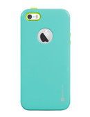 Buy Beyond Cell InFlex V2 TPU Ultra Slim Case for Apple iPhone 5s/5 (Light Blue/Neon Green) with Free Shipping from www.creekle.com