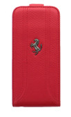 Buy Ferrari Leather Flap Case for Apple iPhone 5s/5 (Red) with Free Shipping from www.creekle.com