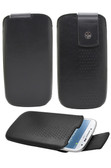 Buy Trexta Lifter Leather Pouch Case for Samsung Galaxy S4 (Black) with Free Shipping from www.creekle.com