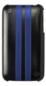 Buy Trexta Leather Racing Snap-on Case for Apple iPhone 3G/3GS (Blue & Black) with Free Shipping from www.creekle.com