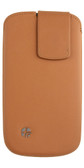 Buy Trexta Lifter Leather Case Pouch for iPhone 5 (Camel Tan Brown color) with Free Shipping from www.creekle.com