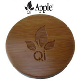 Nature Unity Qi Wireless Charger Wood Pad, Wireless Apple iPhone 5s & 6 Kit