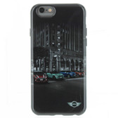 Licensed Mini Cooper Hard Case STREET CARS for iphone 6 Black