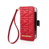 Karl Lagerfeld BookType Quilted for iPhone 6 / 6s - Red