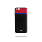 BMW Carbon Inspiration Tricolor Stripe TPU Carbon for iPhone 6 / 6s - Red